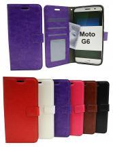 billigamobilskydd.se Crazy Horse Lompakko Motorola Moto G6