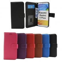 billigamobilskydd.se New Jalusta Lompakkokotelo Xiaomi Redmi 5 Plus