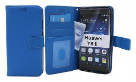 billigamobilskydd.se New Jalusta Lompakkokotelo Huawei Y6 II (CAM-L21)