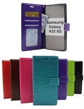 billigamobilskydd.se Crazy Horse Lompakko Samsung Galaxy A32 5G (A326B)