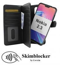 CoverIn Skimblocker XL Magnet Wallet Nokia 2.3