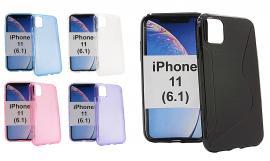 billigamobilskydd.se S-Line TPU-muovikotelo iPhone 11 (6.1)