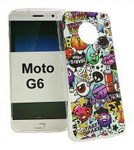 billigamobilskydd.se TPU-Designkotelo Motorola Moto G6