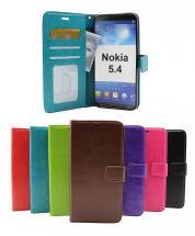 billigamobilskydd.se Crazy Horse Lompakko Nokia 5.4