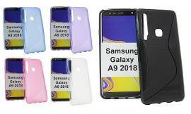 billigamobilskydd.se S-Line TPU-muovikotelo Samsung Galaxy A9 2018 (A920F/DS)