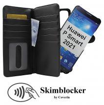 CoverIn Skimblocker XL Magnet Wallet Huawei P Smart 2021
