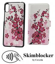 CoverIn Skimblocker Design Magneettilompakko Huawei Y6 2019
