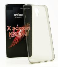 billigamobilskydd.se Ultra Thin TPU Kotelo LG X Screen (K500N)