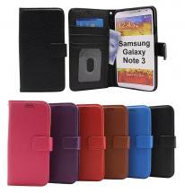 billigamobilskydd.se New Jalusta Lompakkokotelo Samsung Galaxy Note 3 (n9005)