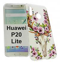 billigamobilskydd.se TPU-Designkotelo Huawei P20 Lite