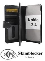 CoverIn Skimblocker XL Wallet Nokia 2.4