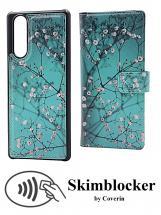 CoverIn Skimblocker Design Magneettilompakko Sony Xperia 5