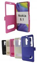 billigamobilskydd.se Flipcase Nokia 8.1