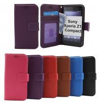 billigamobilskydd.se New Jalusta Lompakkokotelo Sony Xperia Z1 Compact (D5503)