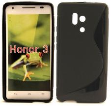 billigamobilskydd.se S-Line TPU-muovikotelo Huawei Honor 3