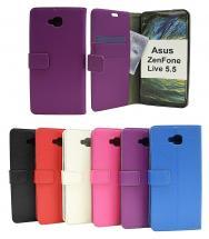 billigamobilskydd.se Jalusta Lompakkokotelo Asus ZenFone Live 5.5 (ZB553KL)