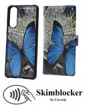 CoverIn Skimblocker Design Magneettilompakko Sony Xperia 5 II