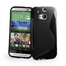 billigamobilskydd.se S-Line TPU-muovikotelo HTC One (M8)
