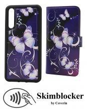 billigamobilskydd.se Skimblocker Design Magneettilompakko Huawei P20 Pro (CLT-L29)