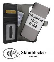 CoverIn Skimblocker Magneettikotelo Motorola Moto G100