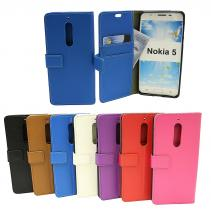 billigamobilskydd.se Jalusta Lompakkokotelo Nokia 5