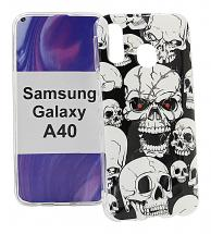 billigamobilskydd.se TPU-Designkotelo Samsung Galaxy A40 (A405FN/DS)