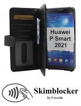 CoverIn Skimblocker XL Wallet Huawei P Smart 2021