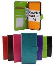billigamobilskydd.se Crazy Horse Lompakko OnePlus Nord CE 5G