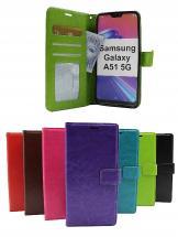 billigamobilskydd.se Crazy Horse Lompakko Samsung Galaxy A51 5G (A516B/DS)
