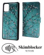 CoverIn Skimblocker Design Magneettilompakko Samsung Galaxy A71 (A715F/DS)