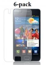 billigamobilskydd.se Kuuden kappaleen näytönsuojakalvopakett Samsung Galaxy S2