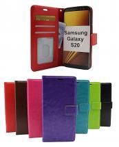 billigamobilskydd.se Crazy Horse Lompakko Samsung Galaxy S20 (G980F)
