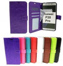 billigamobilskydd.se Crazy Horse Lompakko Huawei P20 Pro
