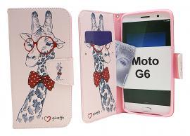 billigamobilskydd.se Kuviolompakko Motorola Moto G6