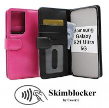 CoverIn Skimblocker Lompakkokotelot Samsung Galaxy S21 Ultra 5G (G998B)