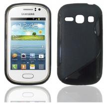 billigamobilskydd.se S-Line TPU-muovikotelo Samsung Galaxy Fame
