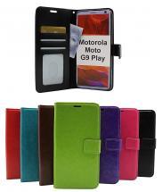 billigamobilskydd.se Crazy Horse Lompakko Motorola Moto G9 Play