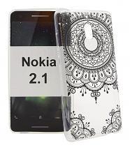 billigamobilskydd.se TPU-Designkotelo Nokia 2.1