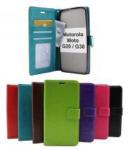 billigamobilskydd.se Crazy Horse Lompakko Motorola Moto G20 / Moto G30