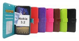 billigamobilskydd.se Crazy Horse Lompakko Nokia 3.2