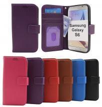 billigamobilskydd.se New Jalusta Lompakkokotelo Samsung Galaxy S6 (SM-G920F)