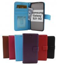 billigamobilskydd.se New Jalusta Lompakkokotelo Samsung Galaxy S21 5G (G991B)