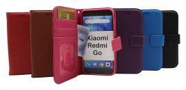 billigamobilskydd.se New Jalusta Lompakkokotelo Xiaomi Redmi Go