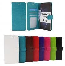billigamobilskydd.se Crazy Horse Lompakko Huawei P30 Pro (VOG-L29)