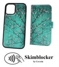 CoverIn Skimblocker Design Magneettilompakko iPhone 13 Pro (6.1)