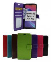 billigamobilskydd.se Crazy Horse Lompakko Samsung Galaxy S20 FE/S20 FE 5G