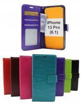 billigamobilskydd.se Crazy Horse Lompakko iPhone 13 Pro (6.1)
