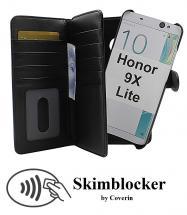 CoverIn Skimblocker XL Magnet Wallet Huawei Honor 9X Lite