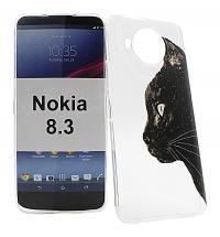billigamobilskydd.se TPU-Designkotelo Nokia 8.3