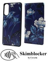 CoverIn Skimblocker Design Magneettilompakko Sony Xperia 10 II (XQ-AU51 / XQ-AU52)